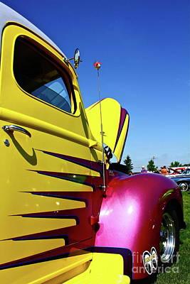Mooneye Photograph - Truck Art by Linda Bianic