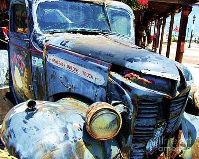 Relic Glass Photograph - Truckin by Debbi Granruth