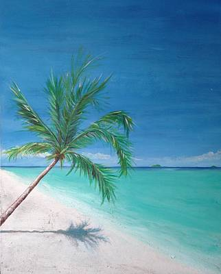 An Island Painting - True Paradise by Byron Houston