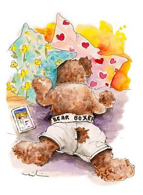 Ipad Drawing - Truffle Mcfurry Hates Mondays by Miki De Goodaboom