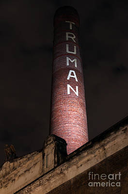 Truman Chimney In Brick Lane Print by Jasna Buncic