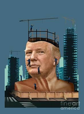 Trump Tower Print by Joseph Juvenal