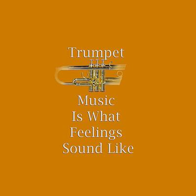 Trumpet Photograph - Trumpet Is What Feelings Sound Like 5583.02 by M K  Miller