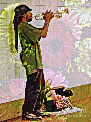 Trumpeting Spring Print by Sarah Loft