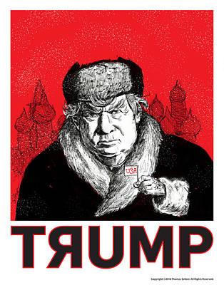 Revolution Mixed Media - Trumpski by Thomas Seltzer