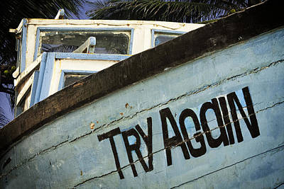 Old Photograph - Try Again by Andrew Soundarajan