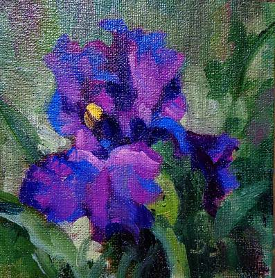 Painting - T's Iris by Donna Shortt