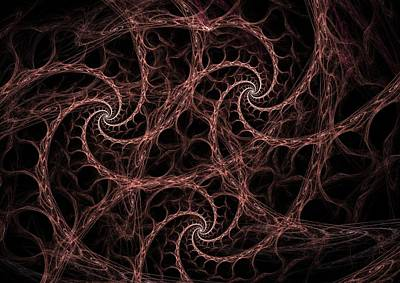 Fractal Digital Art - Tsunami by David April