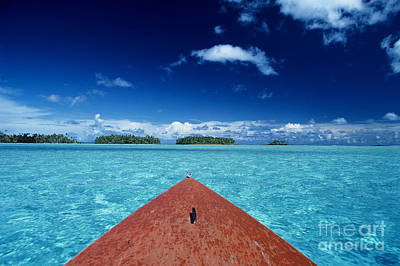 Tuamotu Islands, Raiatea Print by William Waterfall - Printscapes