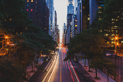 Photograph - Tudor City Bridge - New York City by Thomas Richter