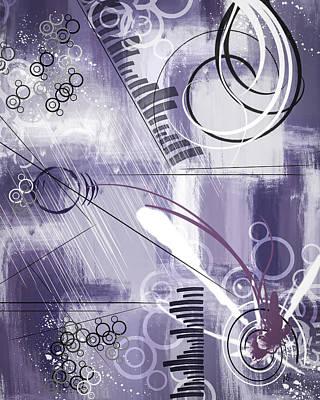 Purple Grapes Mixed Media - Tuesday by Melissa Smith