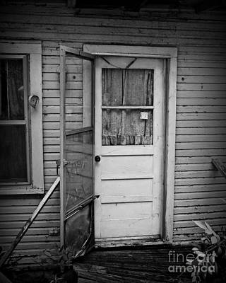 Screen Doors Photograph - Tuff Times 2 by Perry Webster