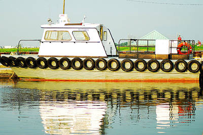 Eye4life Photograph - Tugboats Of New Orleans by Alicia Morales