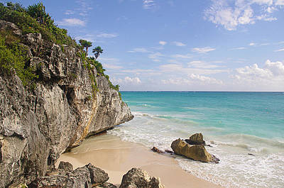 Mayan Photograph - Tulum, Riviera Maya by Fabian Jurado's Photography.