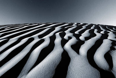 Tunisian Dunes Print by Tim Booth