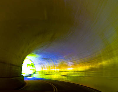 Smokey Mountain Drive Photograph - Tunnel #2 by Terry Anderson