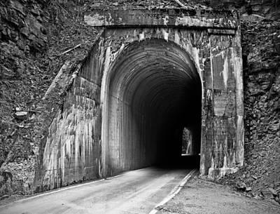 Tunnel Print by Leland D Howard