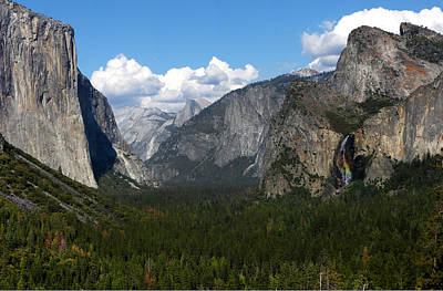 Photograph - Tunnel View by David Yunker