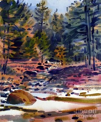 Tuolumne River In October Original by Donald Maier