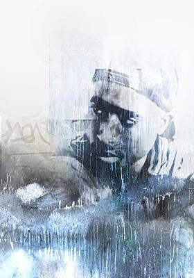 Tupac 124 Print by Jani Heinonen