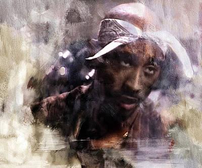Tupac 321 Print by Jani Heinonen