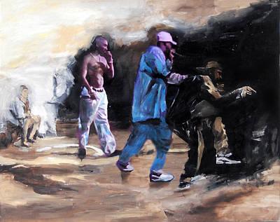 Tupac Painting - Tupac Amaru Shakur 2 by Jani Heinonen
