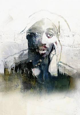 Jay Z Painting - Tupac Graffitti 28 by Jani Heinonen