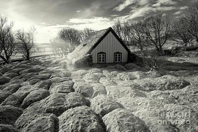 Religious Mixed Media - Turf Church by Svetlana Sewell