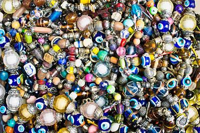 Amulet Photograph - Turkish Jewellery by Tom Gowanlock