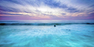 Turquoise Waters Print by Aron Kearney