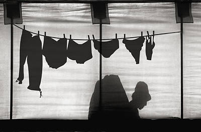 Laundry Photograph - Turtle Lady Sunbathing In Her Backyard by Yvette Depaepe
