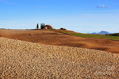 Countryside Photograph - Tuscany Landscape by Michal Bednarek