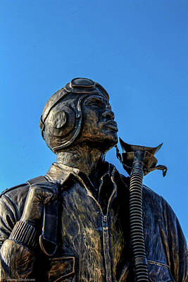 Photograph - Tuskegee Airmen Memorial Usaf Academy 2 by Tommy Anderson
