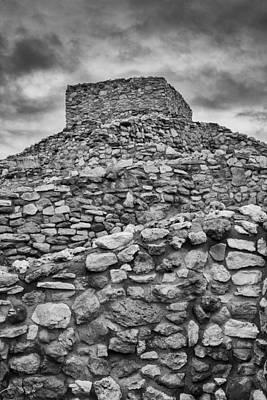 Pueblo Photograph - Tuzigoot Pueblo  by Joseph Smith