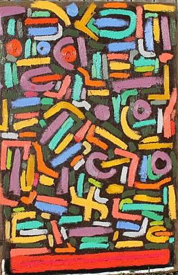 Color Order No.2  24 X 36  2014 Print by Radoslaw Zipper