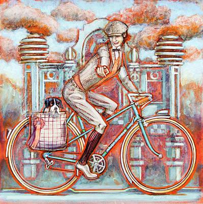 Tweed Runner And Major Nichols Print by Mark Howard Jones
