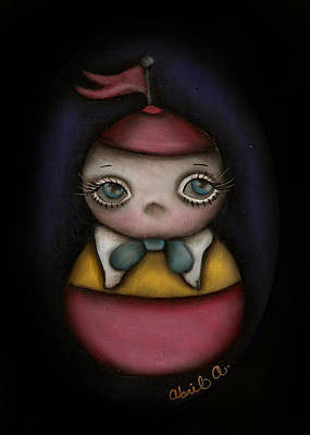 Tweedle Dum Print by  Abril Andrade Griffith