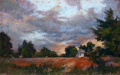 Painting - Twilight Skies by Donna Shortt