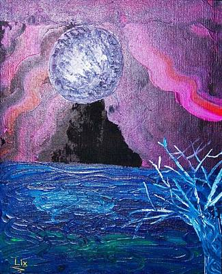 Lansdcape Painting - Twilight Zone by Linoshka  DSilva