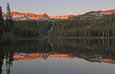Mammoth Photograph - Twin Lakes Sunrise by Donna Kennedy