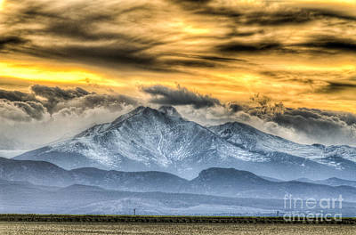 Photograph - Twin Peaks Gold by Greg Summers