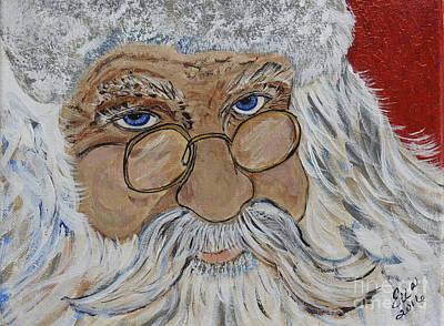 Twinkle In His Eye - Santa Original by Ella Kaye Dickey