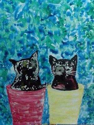 Twins Sister Sibling Original by Hannah Beth Tee