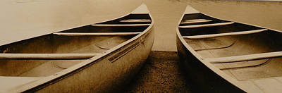 Two Canoes Print by Jack Paolini
