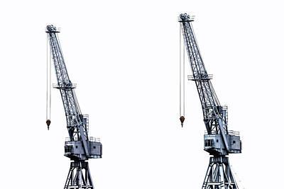 Crane Photograph - Two Cranes by Joana Kruse