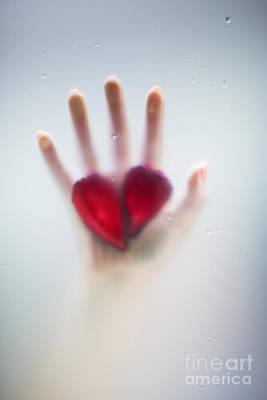 Two Hearts Print by Svetlana Sewell