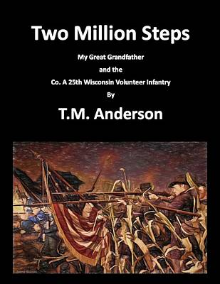 Digital Art - Two Million Steps by Tommy Anderson