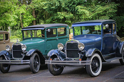Photograph - Two Model T's by Tikvah's Hope