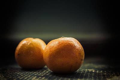 Two Oranges Print by Yo Pedro