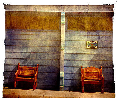 Silver City Photograph - Two Seats Are Still Available by Susanne Van Hulst